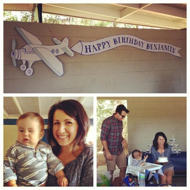 Happy 1st birthday Ben! @jessicaemeyer @andrewjohnmeyer
