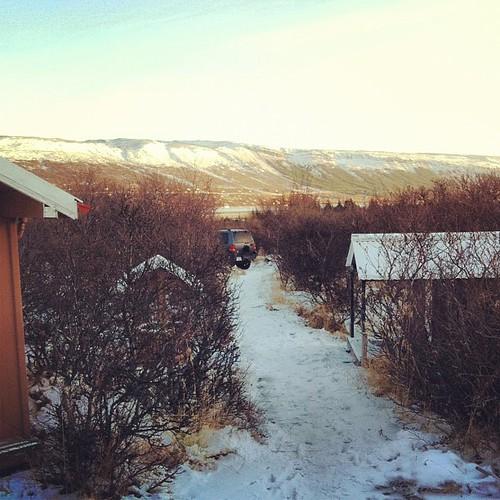 Good morning #skorradalur #iceland #winter