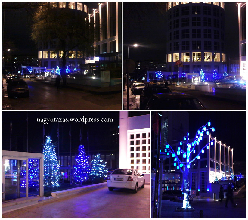 Kék karácsony Törökországban