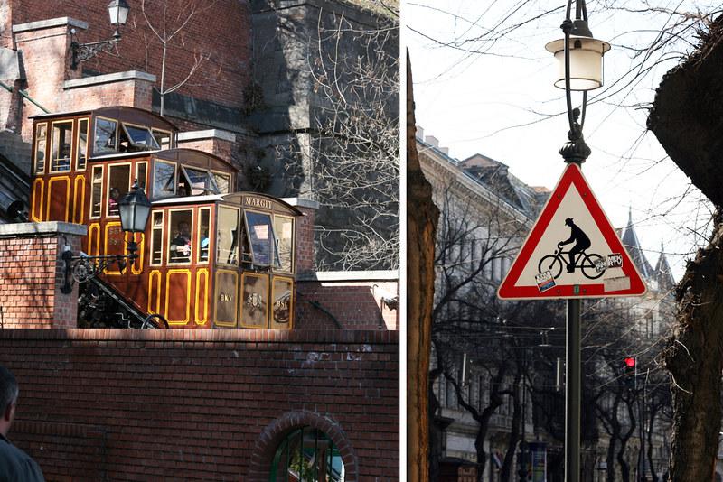 Budapest Castle Hill: Funicular Budavári Sikló