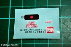 Char Zaku Nissin Cup Gunpla 2011 OOTB Unboxing Review (28)
