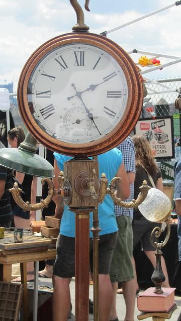 coat rack clock