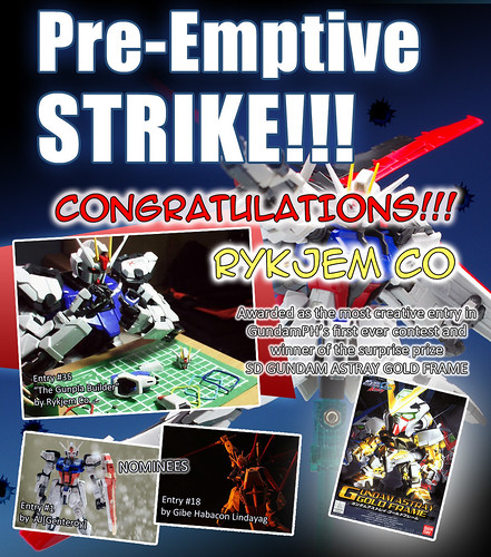 GPH Contest Pre Emptive Strike MOST CREATIVE