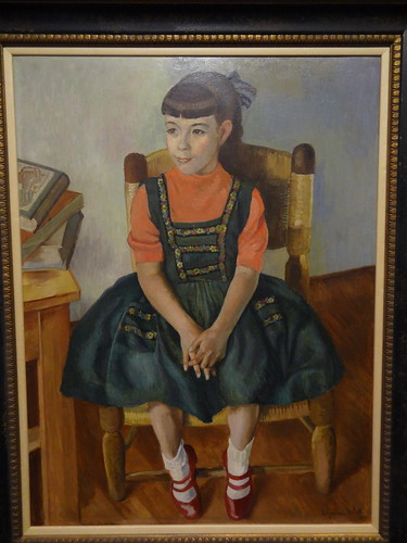 Portrait of Susana Diaz de Leon, by Angelina Beloff (1956).