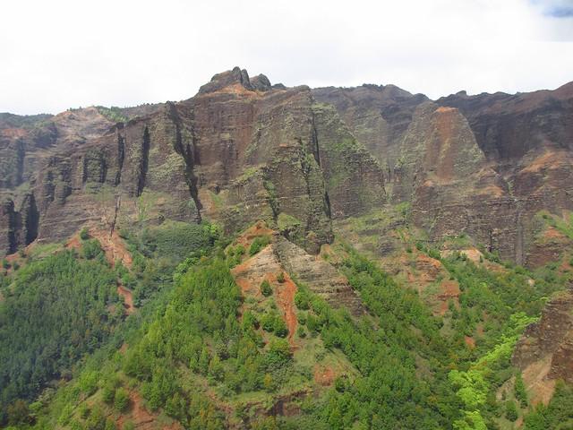 Waimea Canyon from heli 3