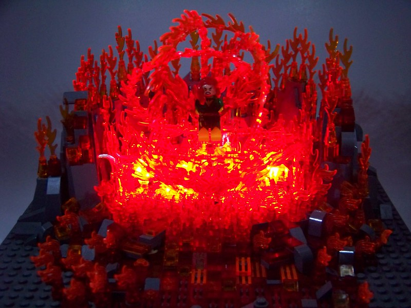 LEGO - Marvel/SuperHeroes - Phoenix heats up...