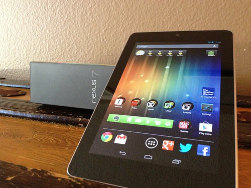 My Nexus 7, image for an upcoming @GadgeTell post