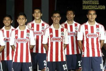 Chivas de Guadalajara adidas 2012/13 Home Soccer Jersey / Camiseta Casa