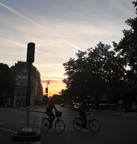 Cycling near St. Germain & Pont de Sully