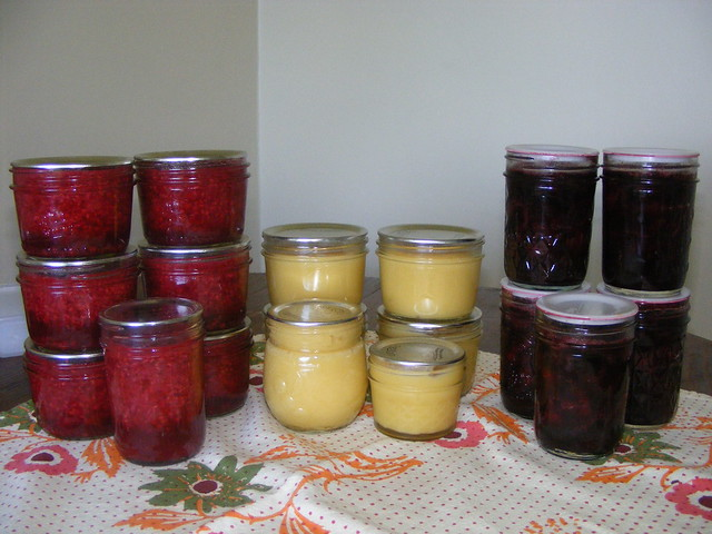 canning in july