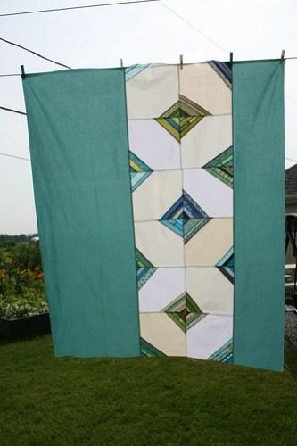 Wonky Kites - Quilt top