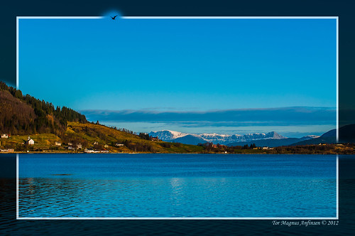 Risnefjord from Brekke by Tor Magnus Anfinsen