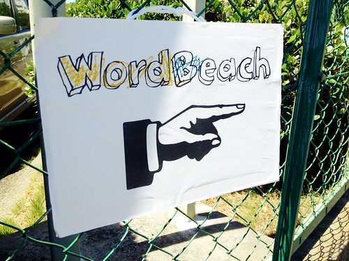 WordBeach 2012 Sign