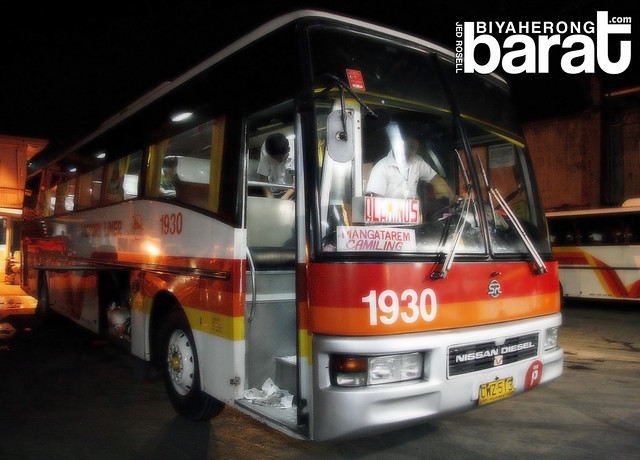 Victory Liner Bus to Alaminos