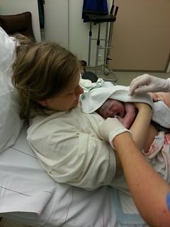 Sander är född!