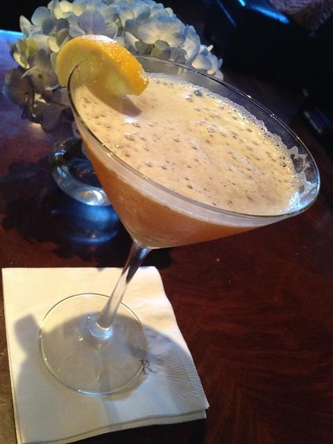 Charleston sweetini cocktail - Wentworth Grill