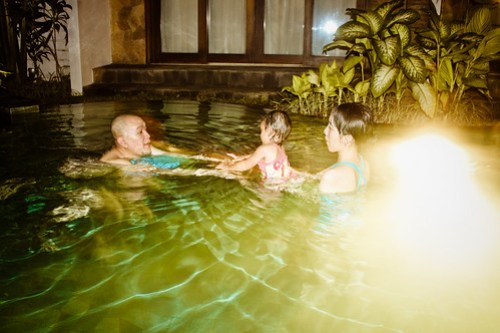 Night Swimming At Seminyak Townhouse