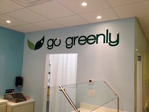 Go Greenly Logo