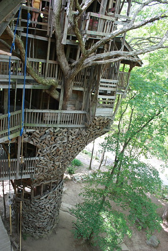 The Treehouse from the Side