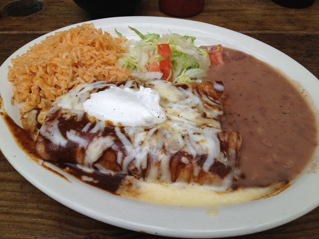 Enchiladas pobalanas - Santi's Restaurante Mexicano