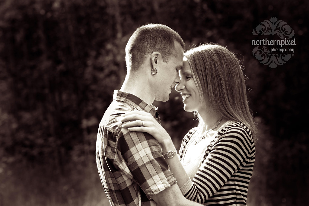 Christine & Nathan - Engagement Photos, Prince George BC