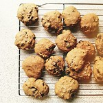 Drunken Pumpkin Chocolate Chunk Cookies