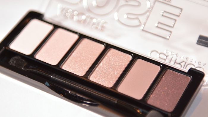 catrice absolute rose eyeshadow palette essence & CATRICE Blogger Event in Wien 12