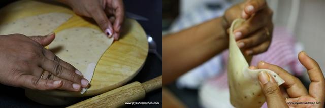 how -to shape- samosa