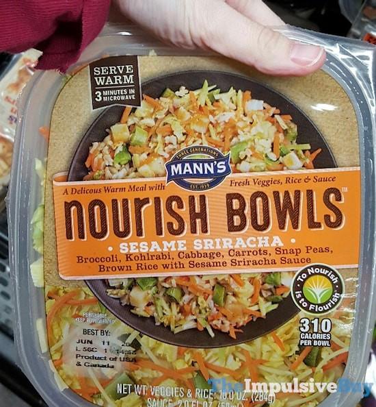 Mann's Sesame Sriracha Nourish Bowls