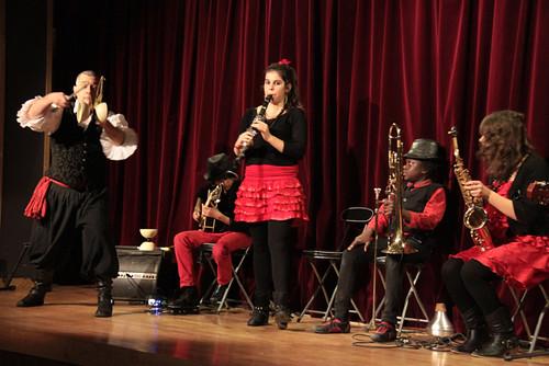 Soirée d'inauguration du festival des arts du geste - mimages 2013 à Soyons
