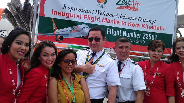 Zest Air Flight Z2501 captain and cabin crew