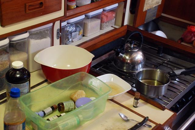 making lotion DIY skin cream recipe