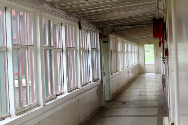 Fever Hospital corridor