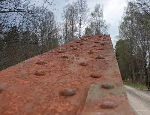 Closeup Iron Bridge Stjärnhyltan