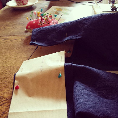 Sewing with @kingfamily. Good times!