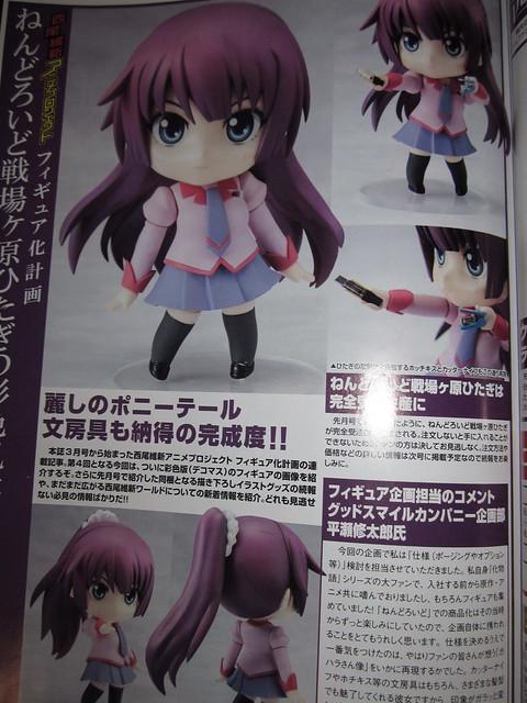 Nendoroid Senjougahara Hitagi