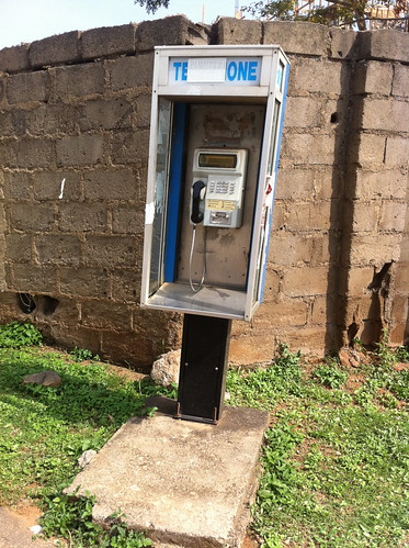 Maitama Abuja Pay phone by Jujufilms