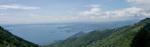 the bay of sn felice, soiano from Pizzocolo