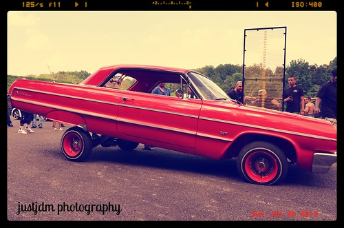 westside lowriders red hopper impala (28)