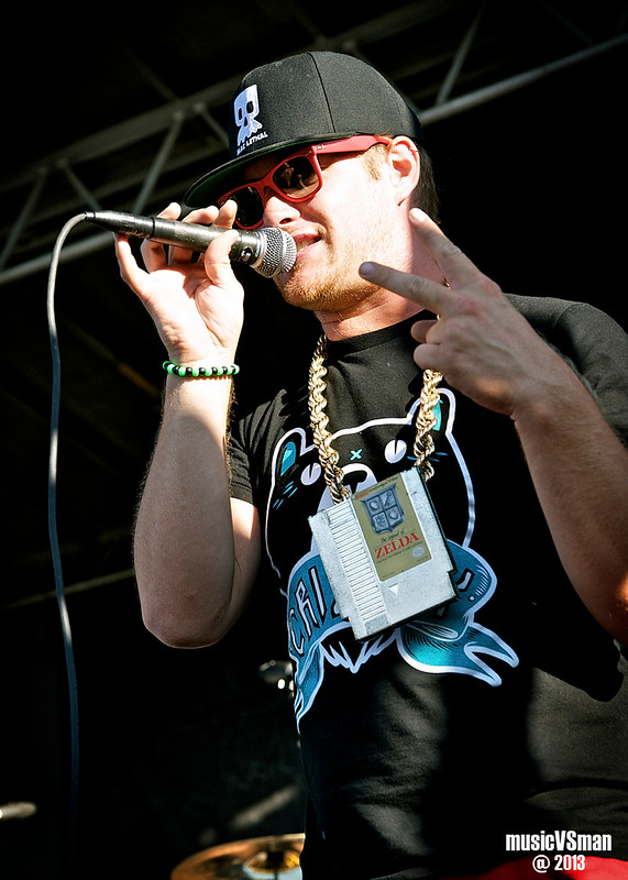 MC Lars @ Warped Tour 2013