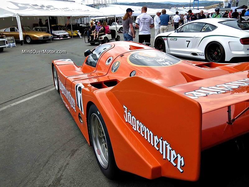 Porsche 962 at the Monterey Motorsports Reunion