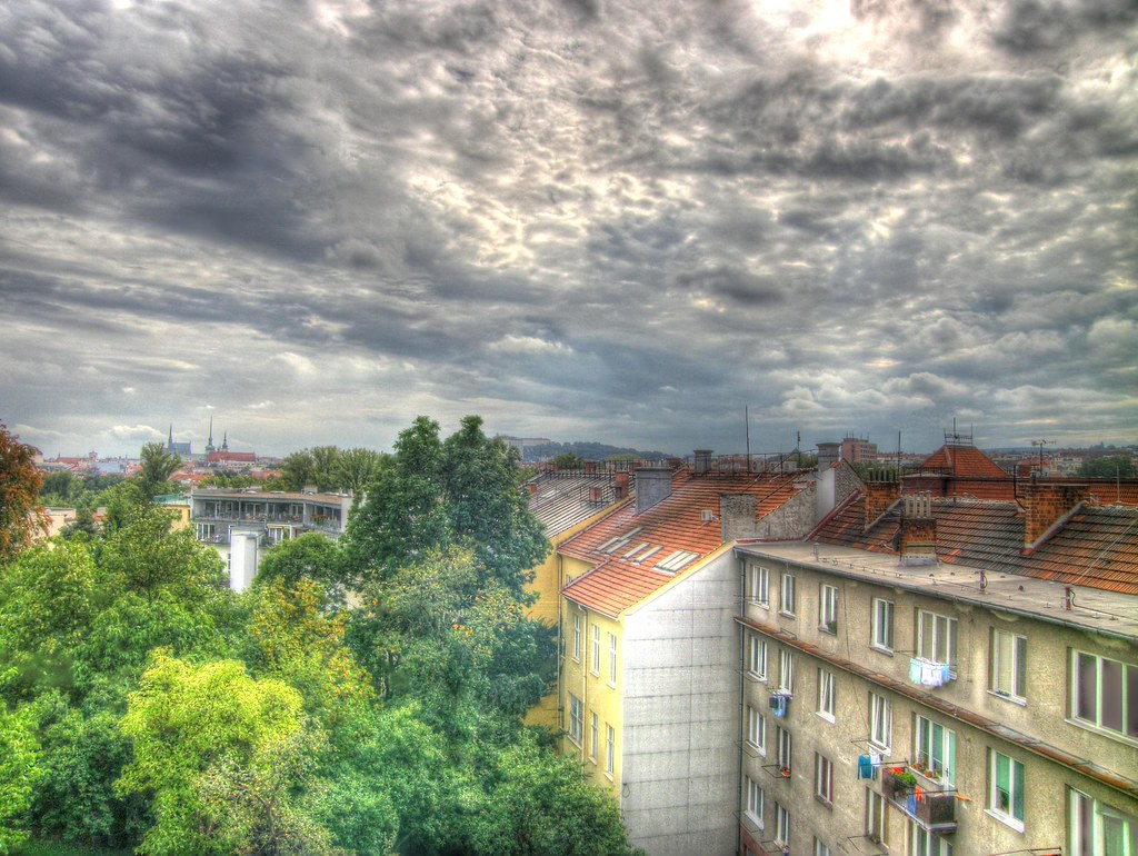 Brno from My Window (artistic HDR version)