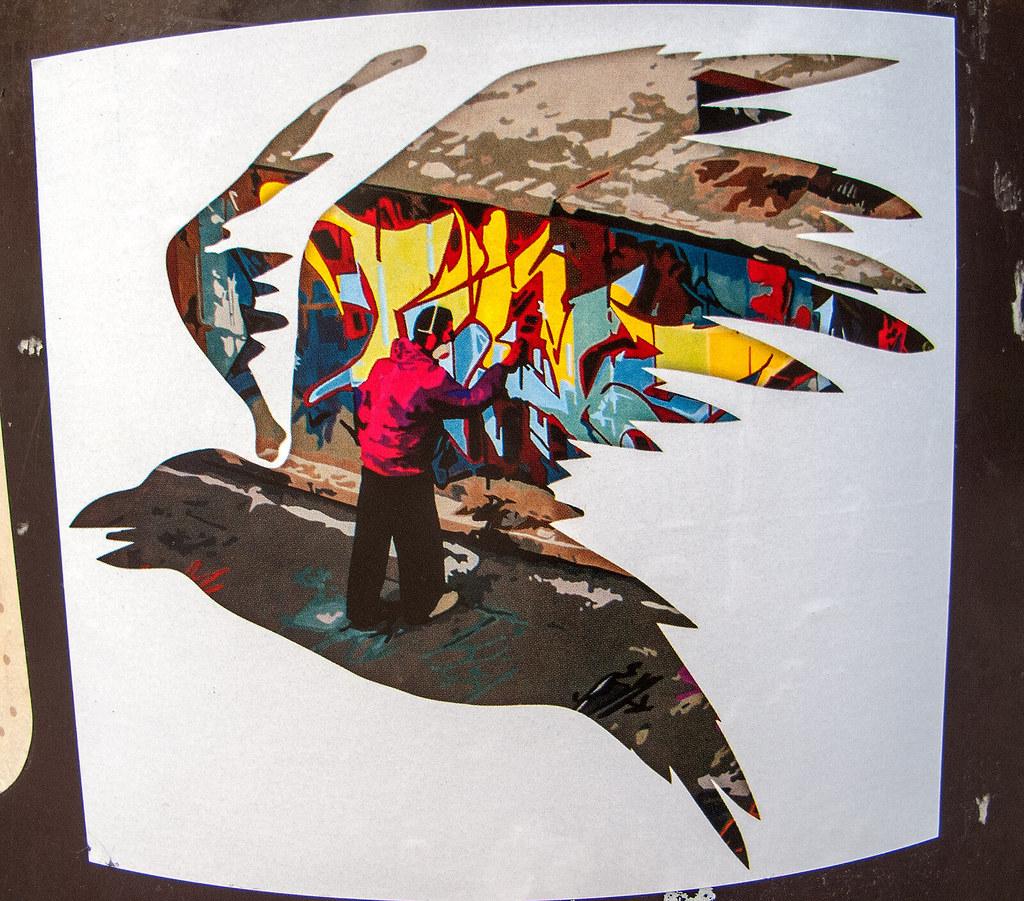 Art Bird - Sticker