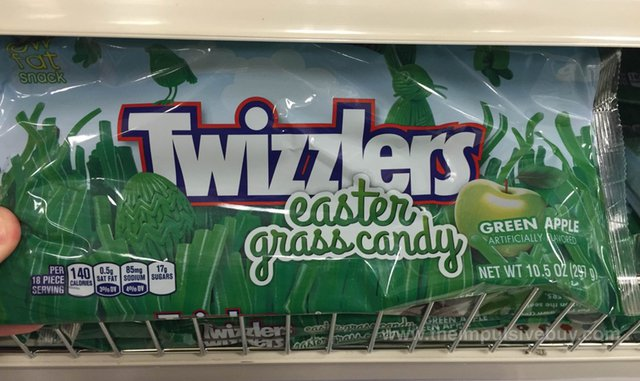 Twizzlers Easter Grass Candy