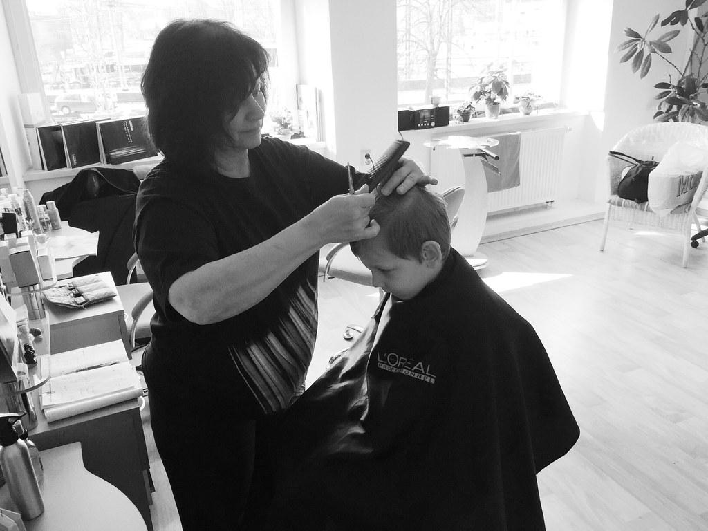 Haircuts on a Thursday (3/19/15)