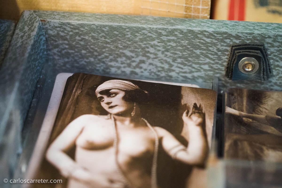 Coleccionismo de fotos pícaras