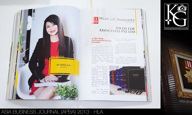 Asia Business Journal (APBA) 2013 - HLA (Corporate Photography)