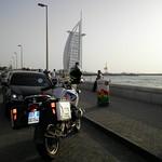 """Foto ricordo a """"La Vela"""" di Dubai"""