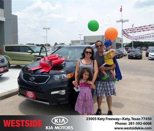 Westside KIA Houston Texas Customer Reviews and Testimonials - Keiji Leon by Westside KIA