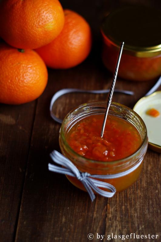 Clementine Karotte Kardamom Marmelade by Glasgeflüster 2 klein